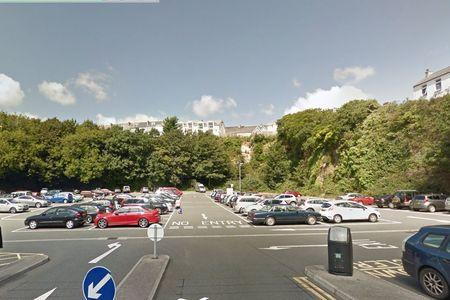 The Quarry car park in Falmouth is part of the JustPark app discount