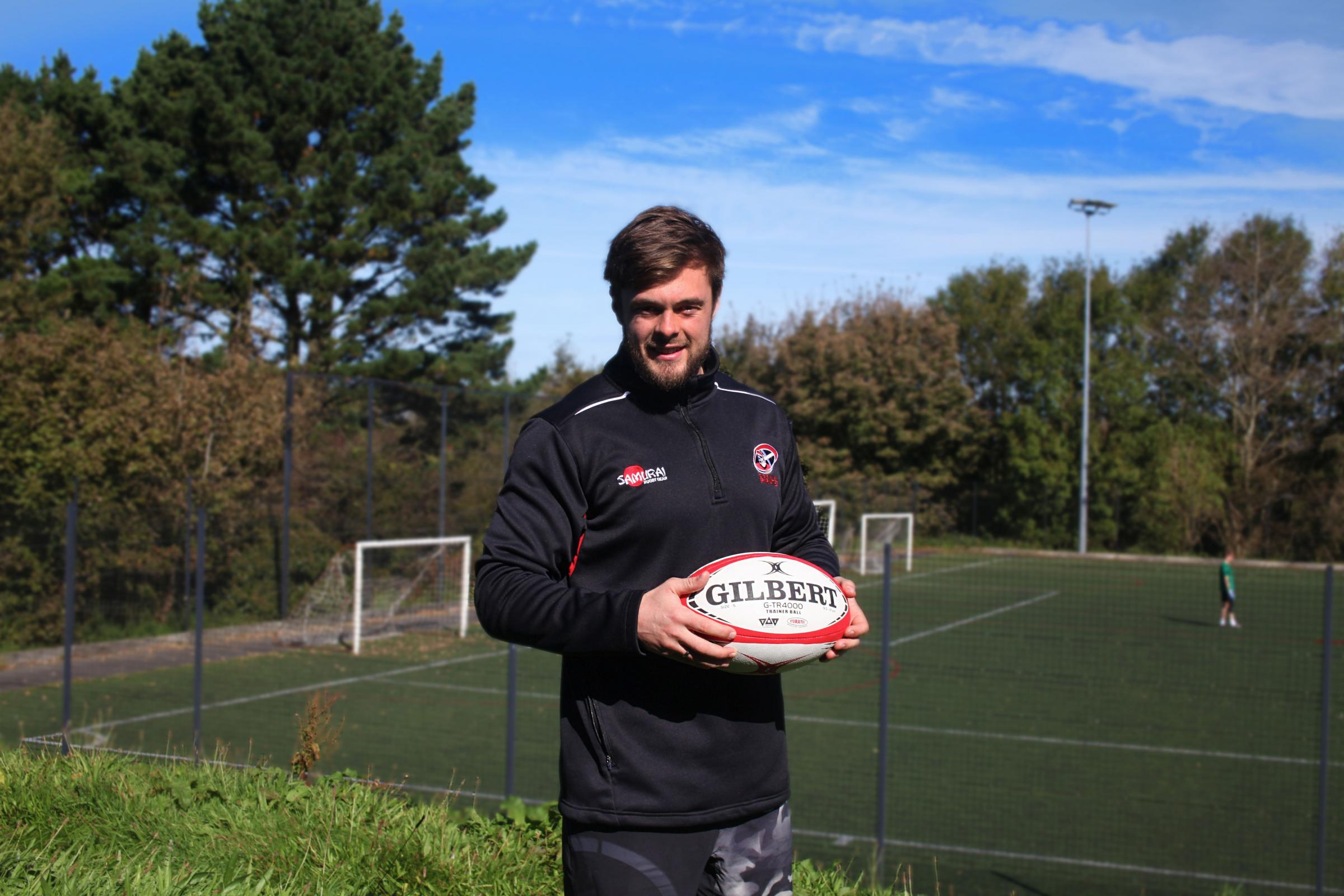 Ben Gregor, former Cornish Pirates coach, currently studying his PGCE.