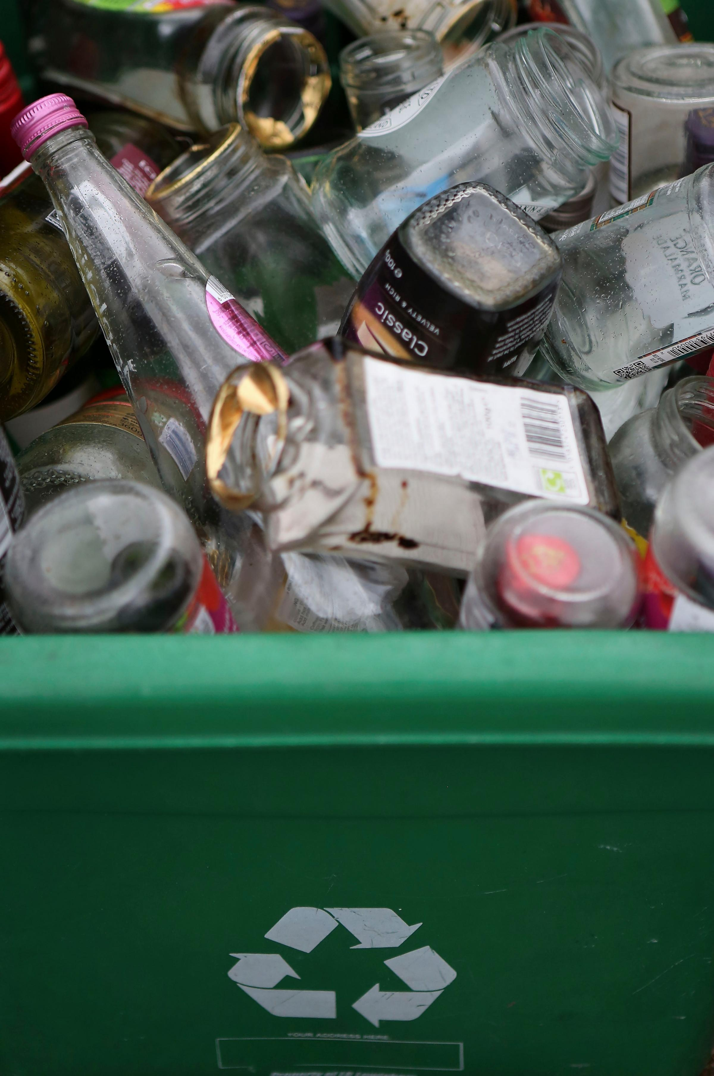 Households should be recycling more than they throw away