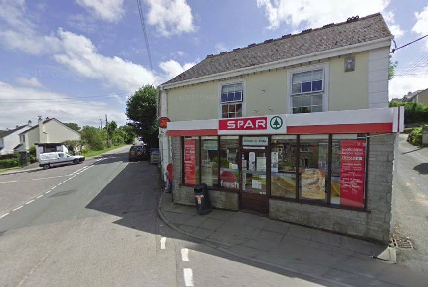 Armed robbers with handguns target two shops in 20 minutes