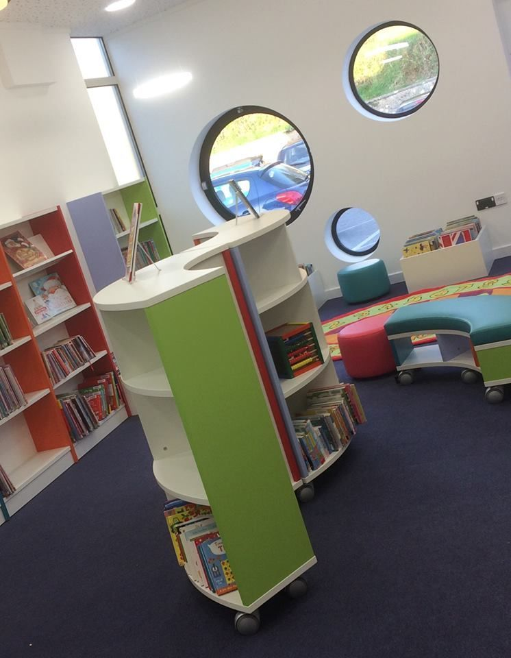 The newly refurbished children's area of Helston Library
