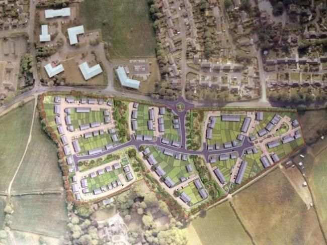 Plans for up to 226 homes on land at Menehay have gone to appeal.