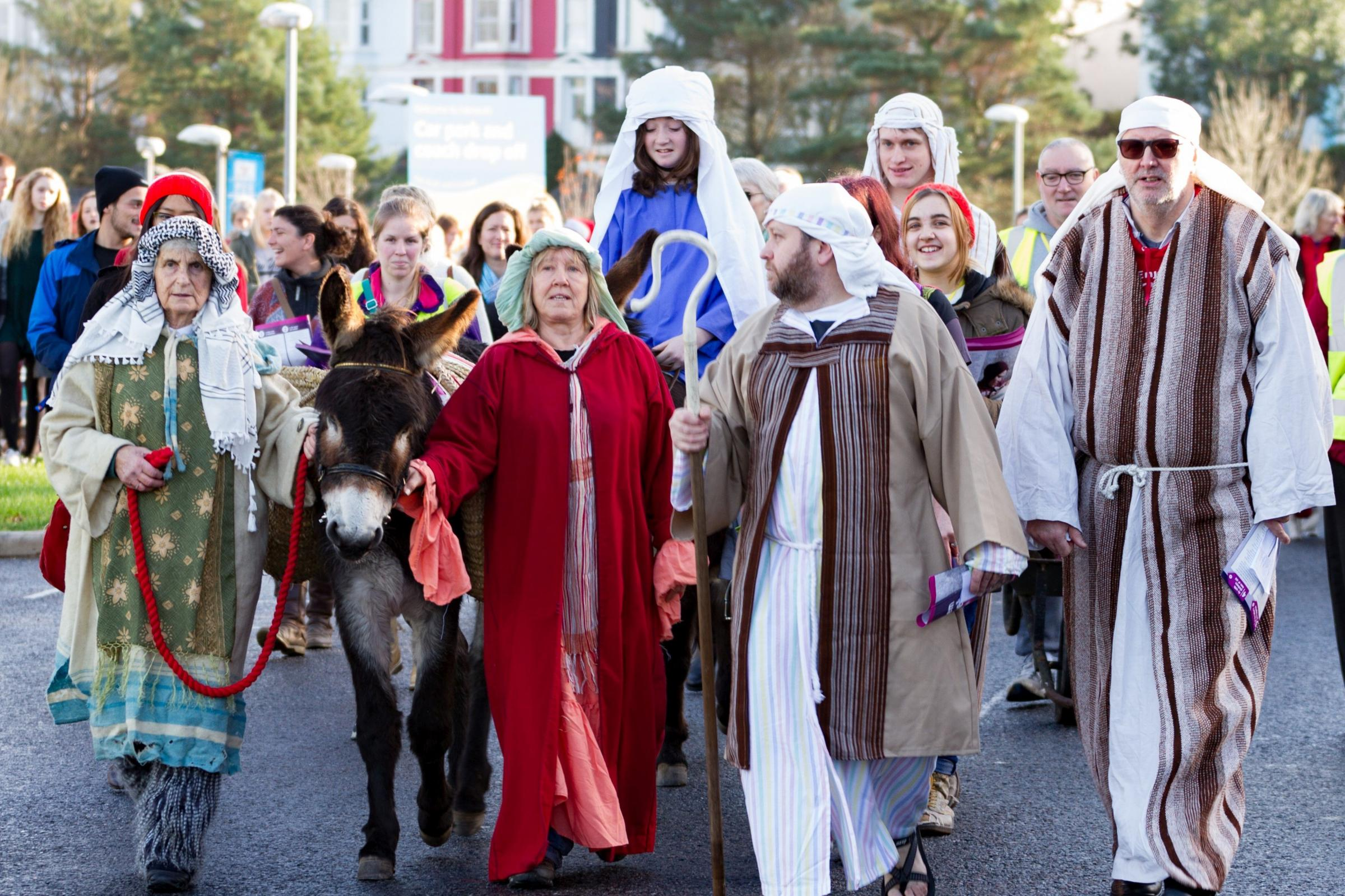 Falmouth's live nativity takes place this Sunday