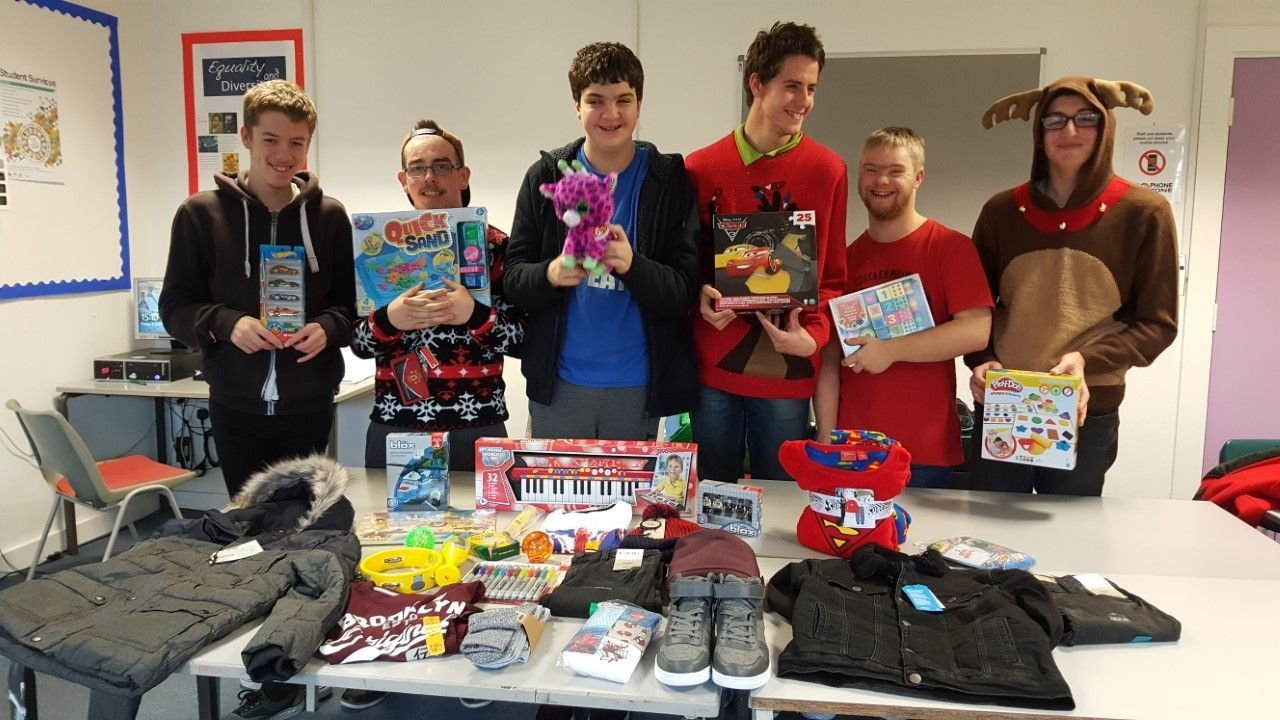 Truro College students send special Christmas gift to teenager in Nepal