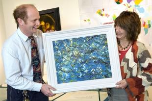 Falmouth gallery buys special painting