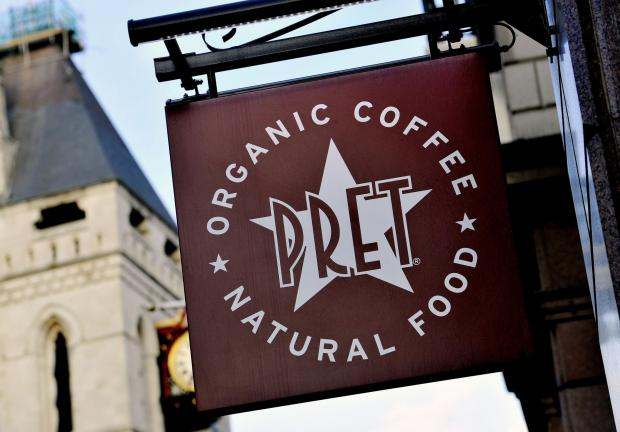 Falmouth Packet: CLOSED: Pret A Manger. Picture: PA Wire
