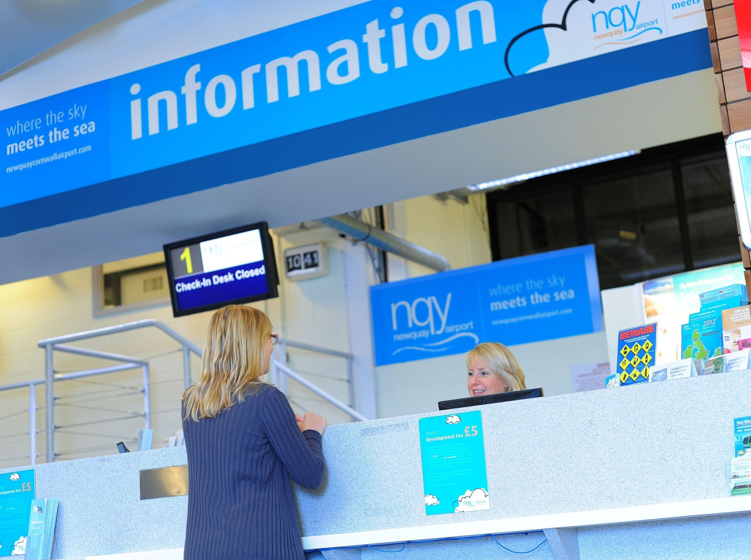 Newquay Airport passenger numbers are up 18%