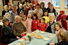 Youngsters joined Mawnan WI at the group's first cake, chat and company event