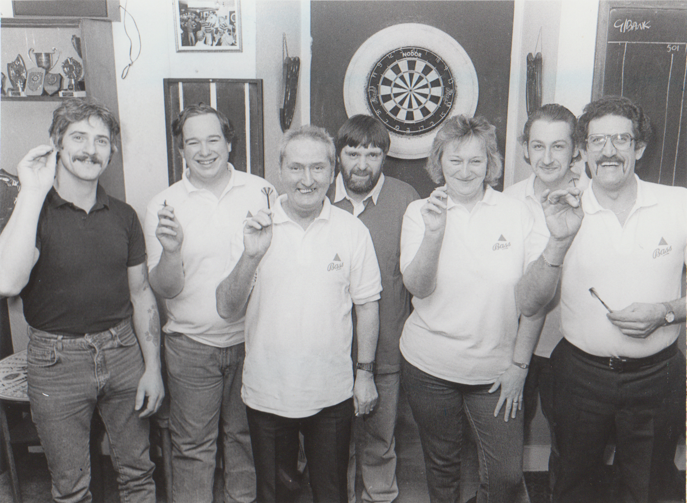 Greenbank darts team, 1991