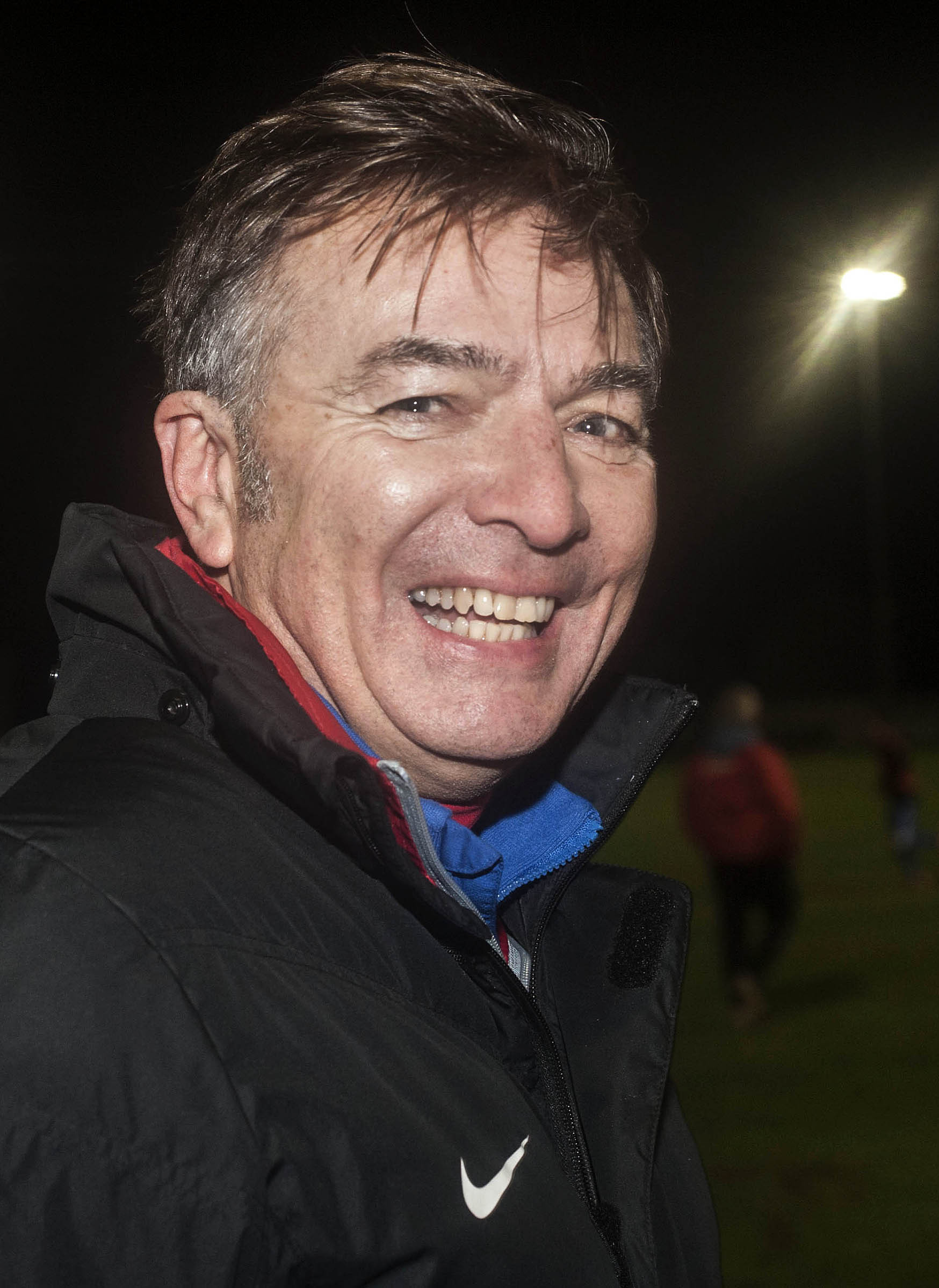 Helston Athletic's boss Steve Massey