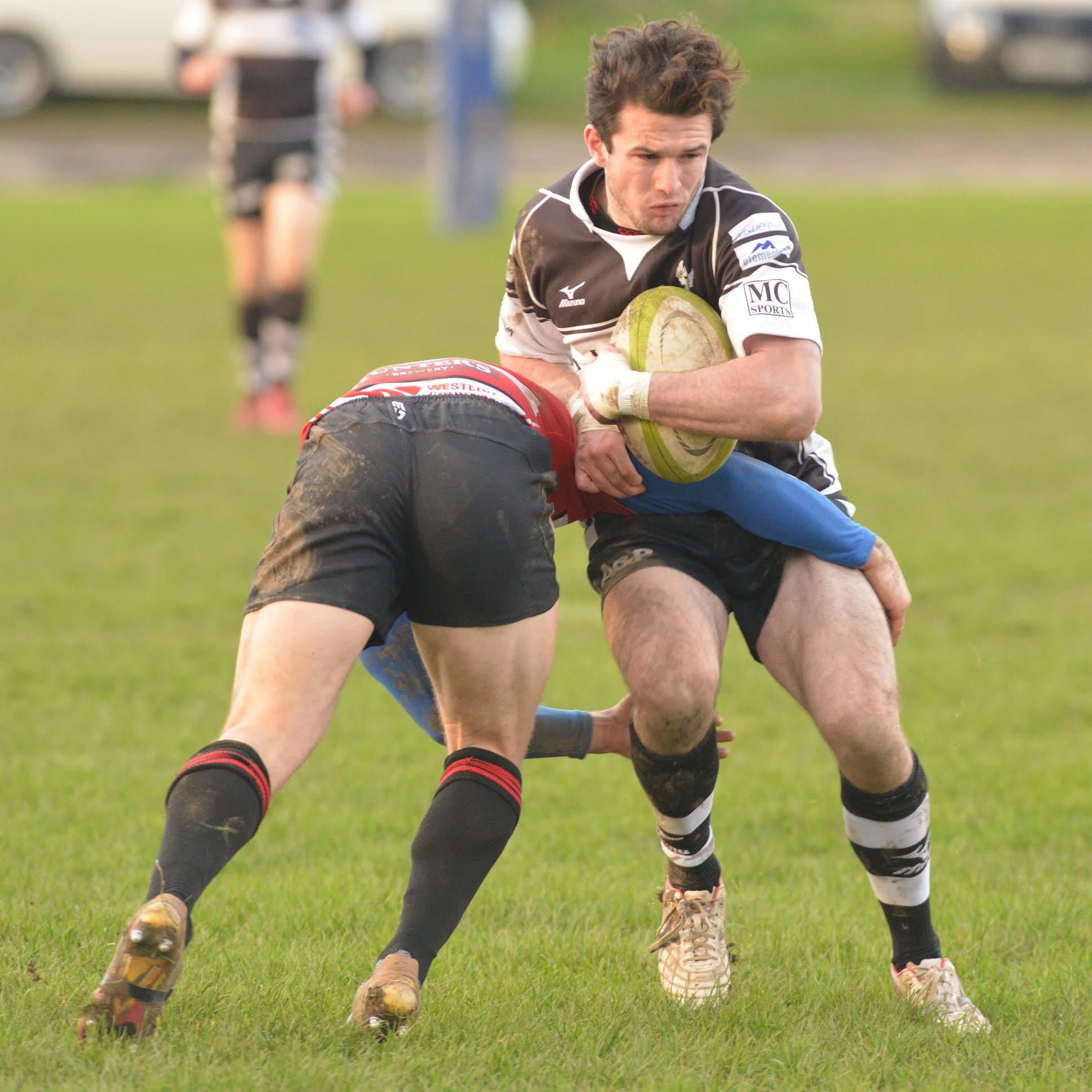 Falmouth's Dan Hubble, who is in the Cornwall under-20 squad who visit Gloucestershire on Sunday