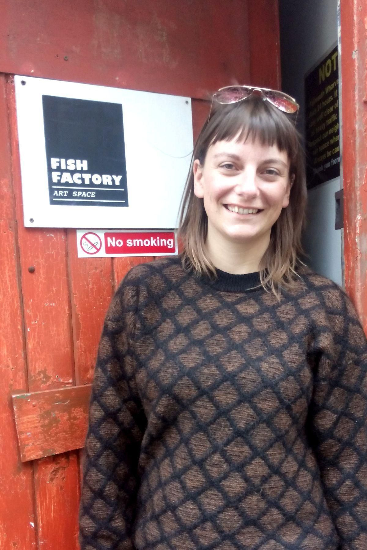 Fish Factory founder Rose Hatcher, pictured at its old home