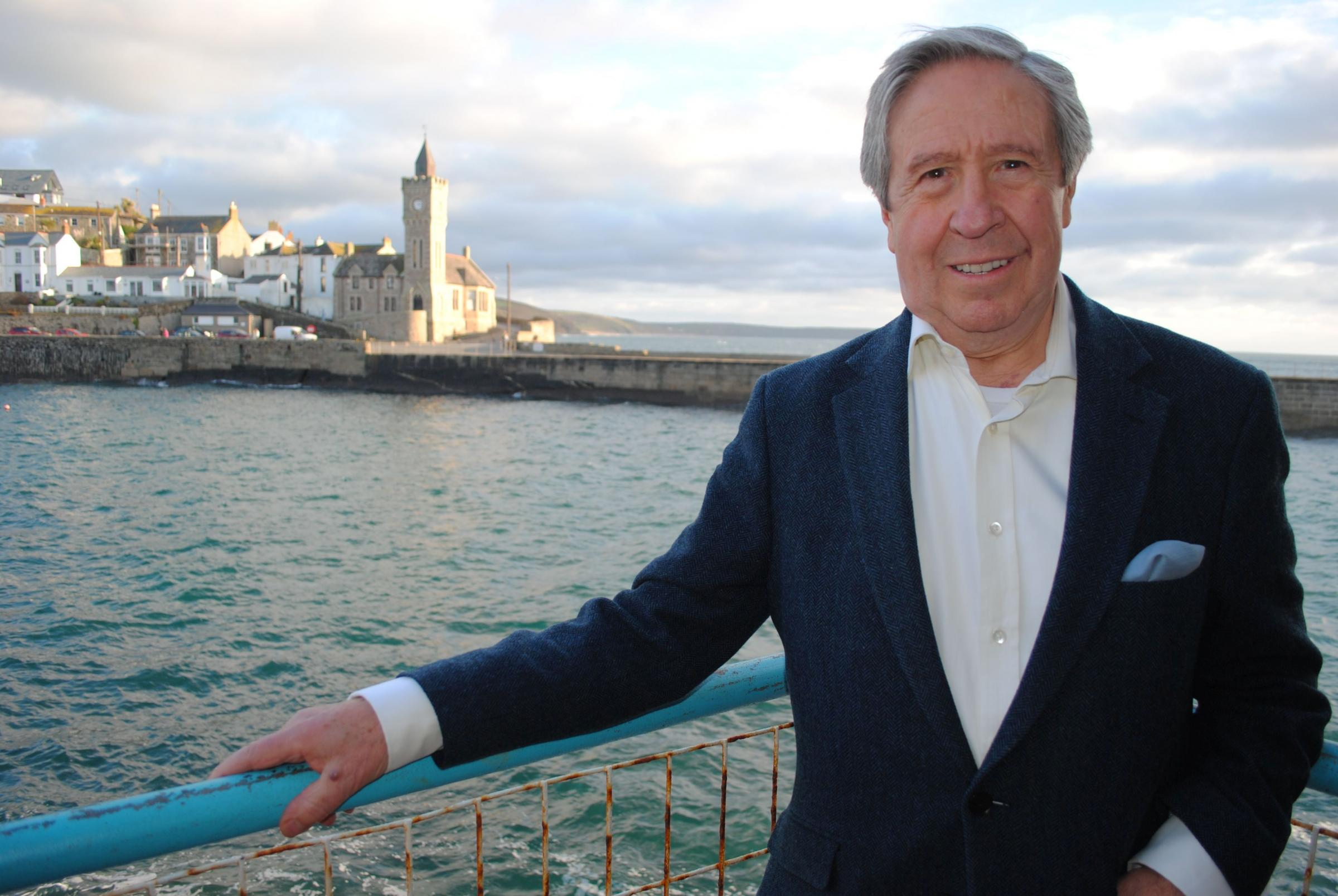 Trevor Osborne has set out his masterplan for Porthleven