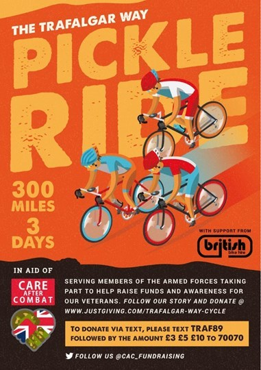 The ride will be held from May 11 to May 13 and will cover over 300 miles