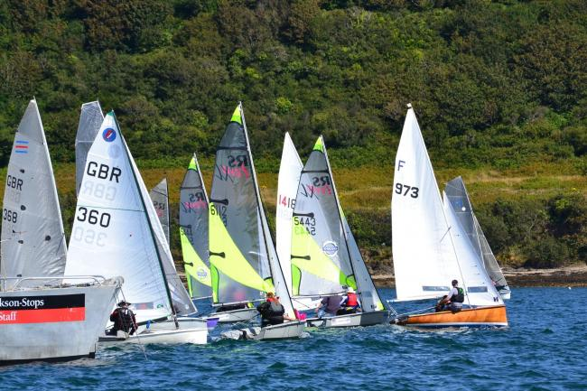 Dinghies are making a return to Falmouth Week this year