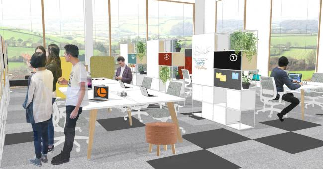 20/20 provides interior design for University\'s groundbreaking ...