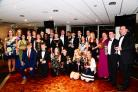 WINNERS: There was a good attendance for Taunton Vale Hockey Club's awards evening. All photos: Steve Richardson