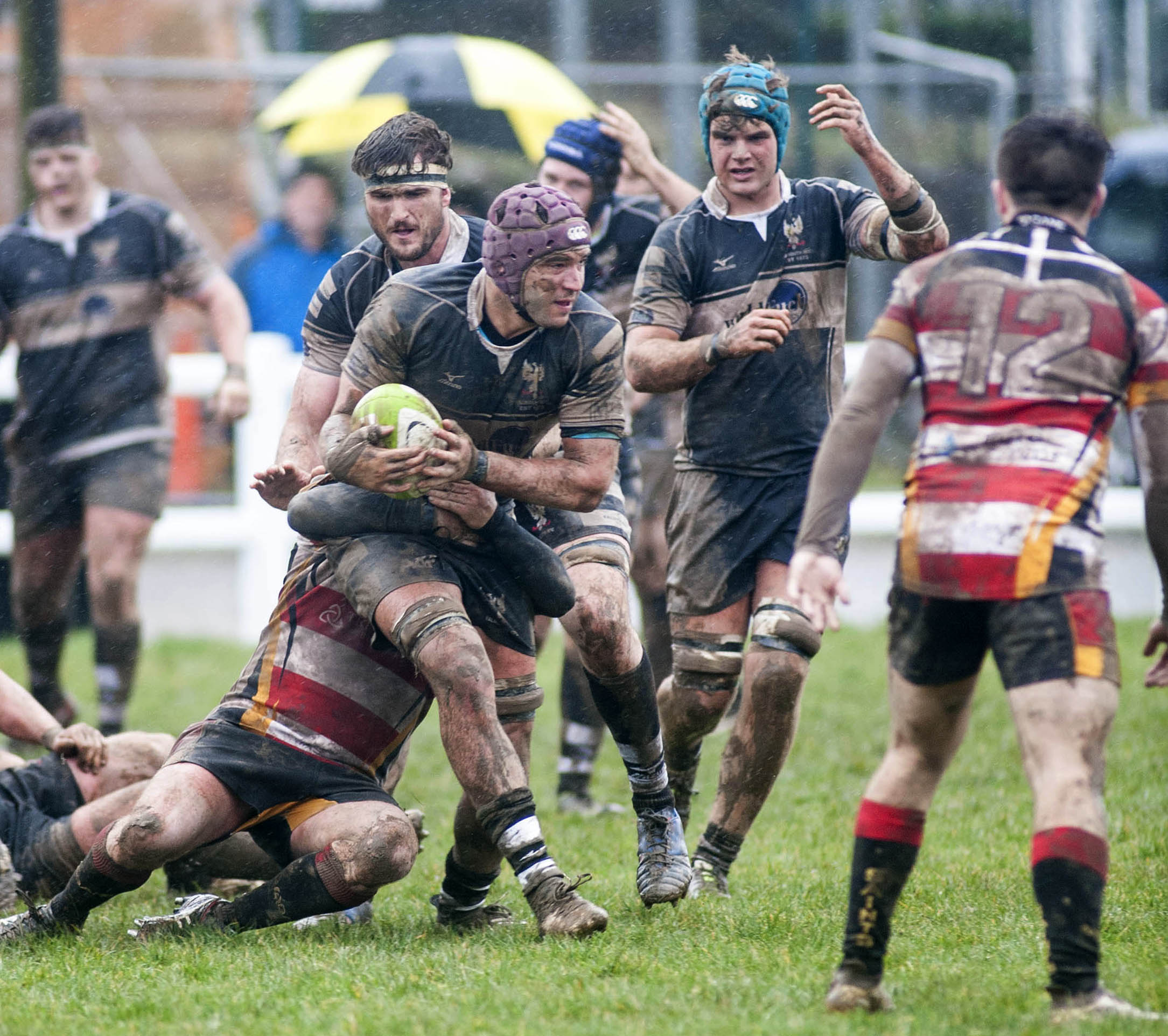 Falmouth lost 43-29 to St Ives but stay up thanks to results elsewhere