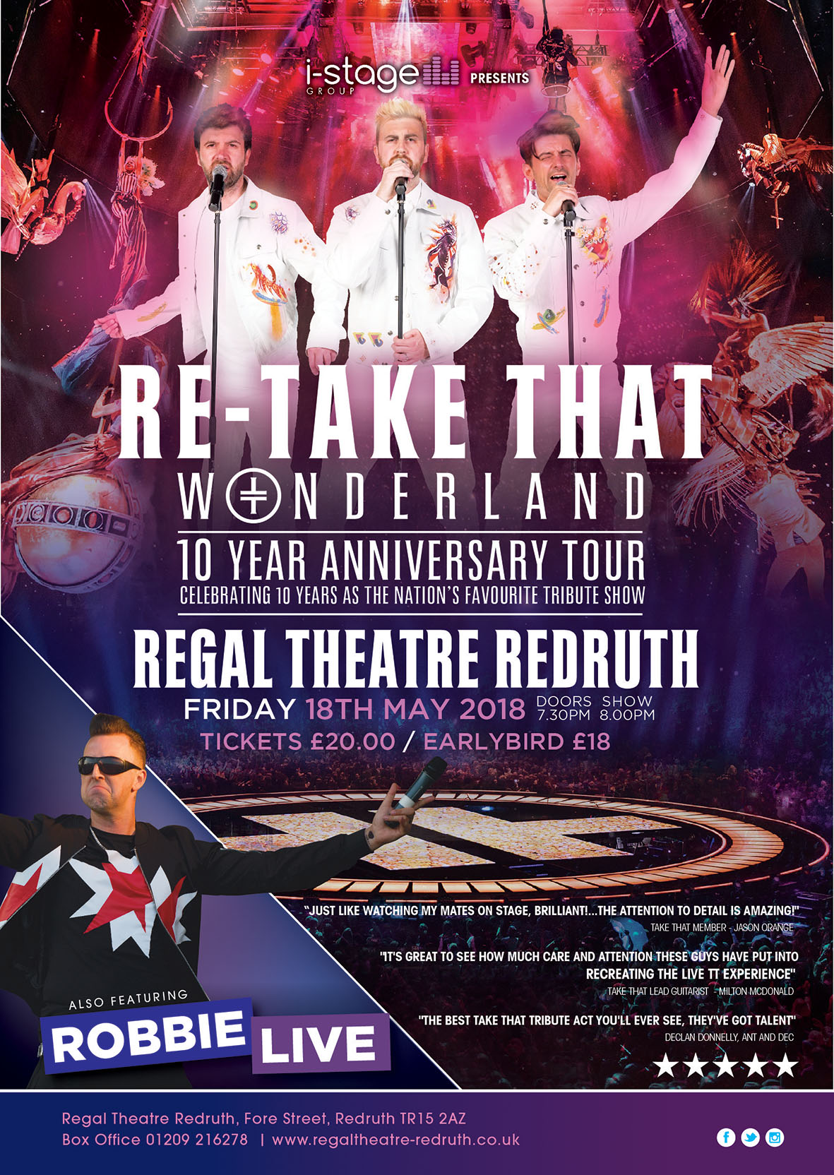RE-TAKE THAT :WONDERLAND TOUR