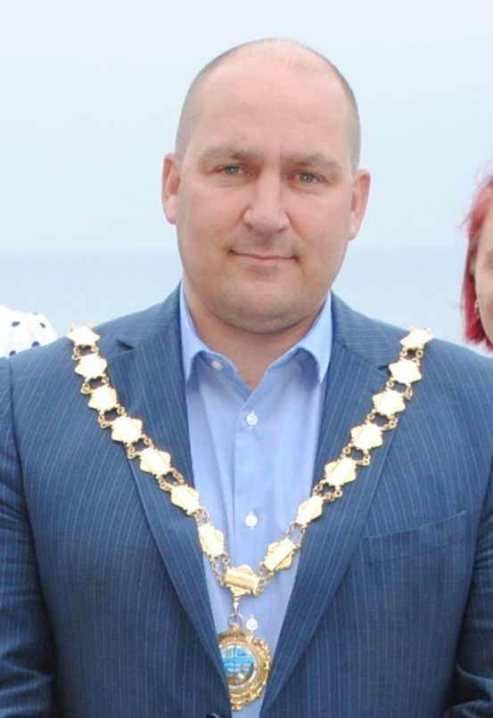 Andrew Wallis has been re-elected as mayor of Porthleven