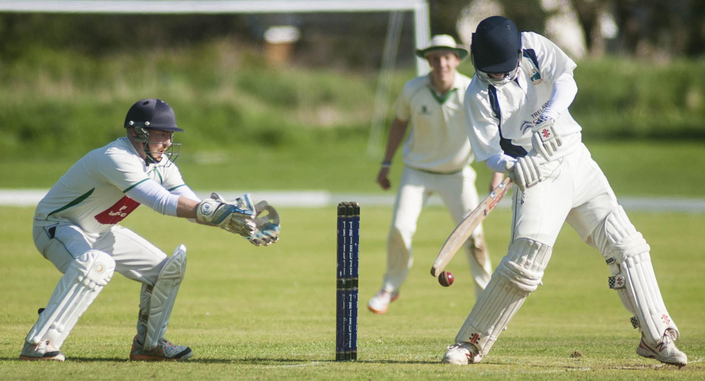 St Gluvias beat Mount Hawke & Porthtowan by 12 runs on Saturday to record their third win of the season