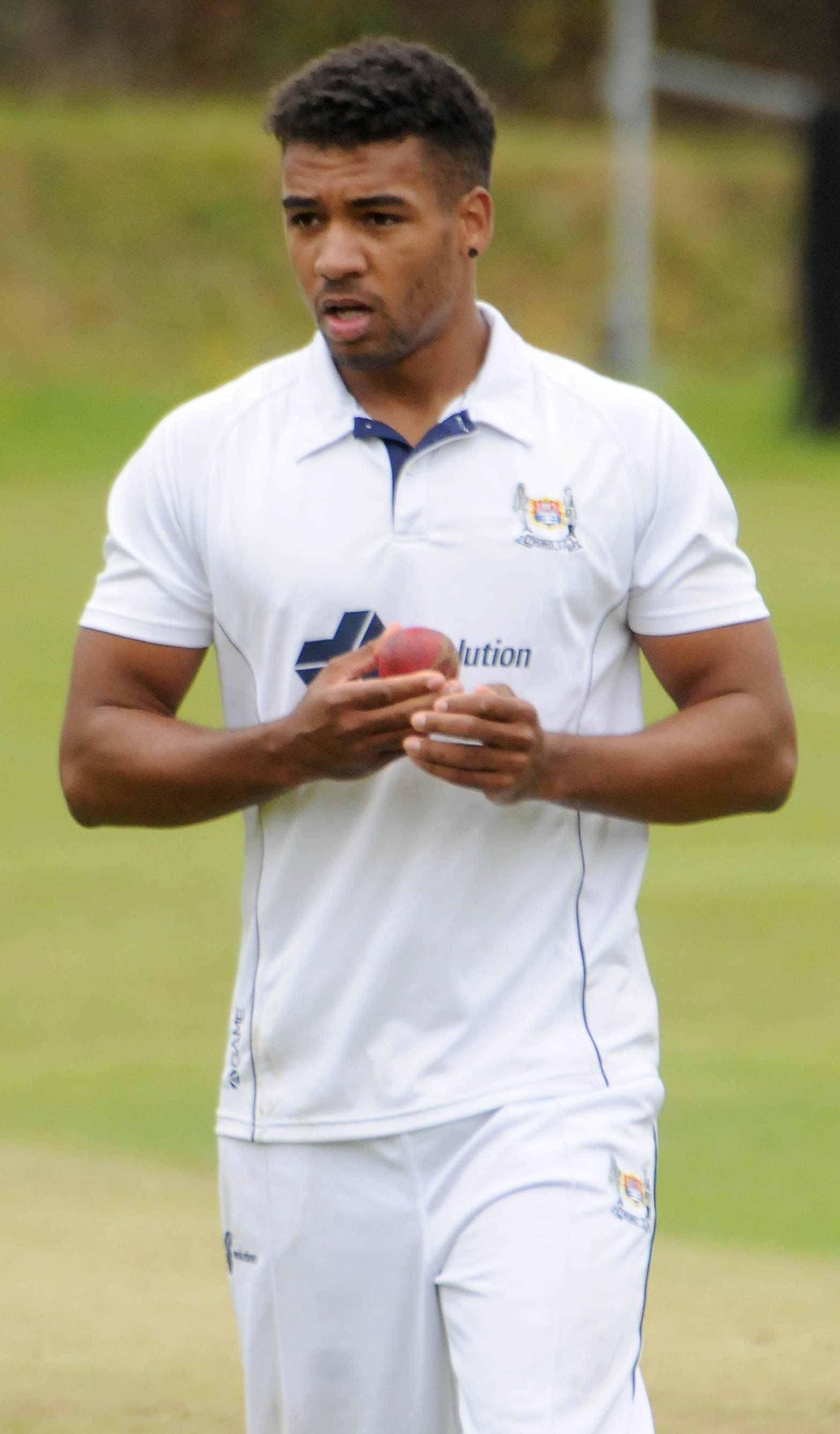 Truro bowler Faiz Fazal (above) claimed five wickets and caught out a sixth as his side beat Werrington by nine wickets on Saturday. Picture by Colin Higgs