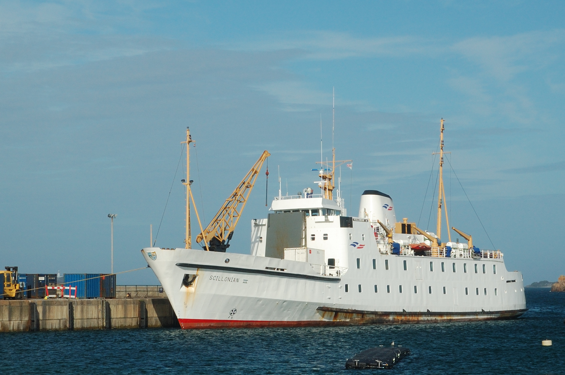 The Scillonian III is suffering an electrical fault and currently unable to sail. (Photo from stock: Austin Donnelly/Wikipedia)