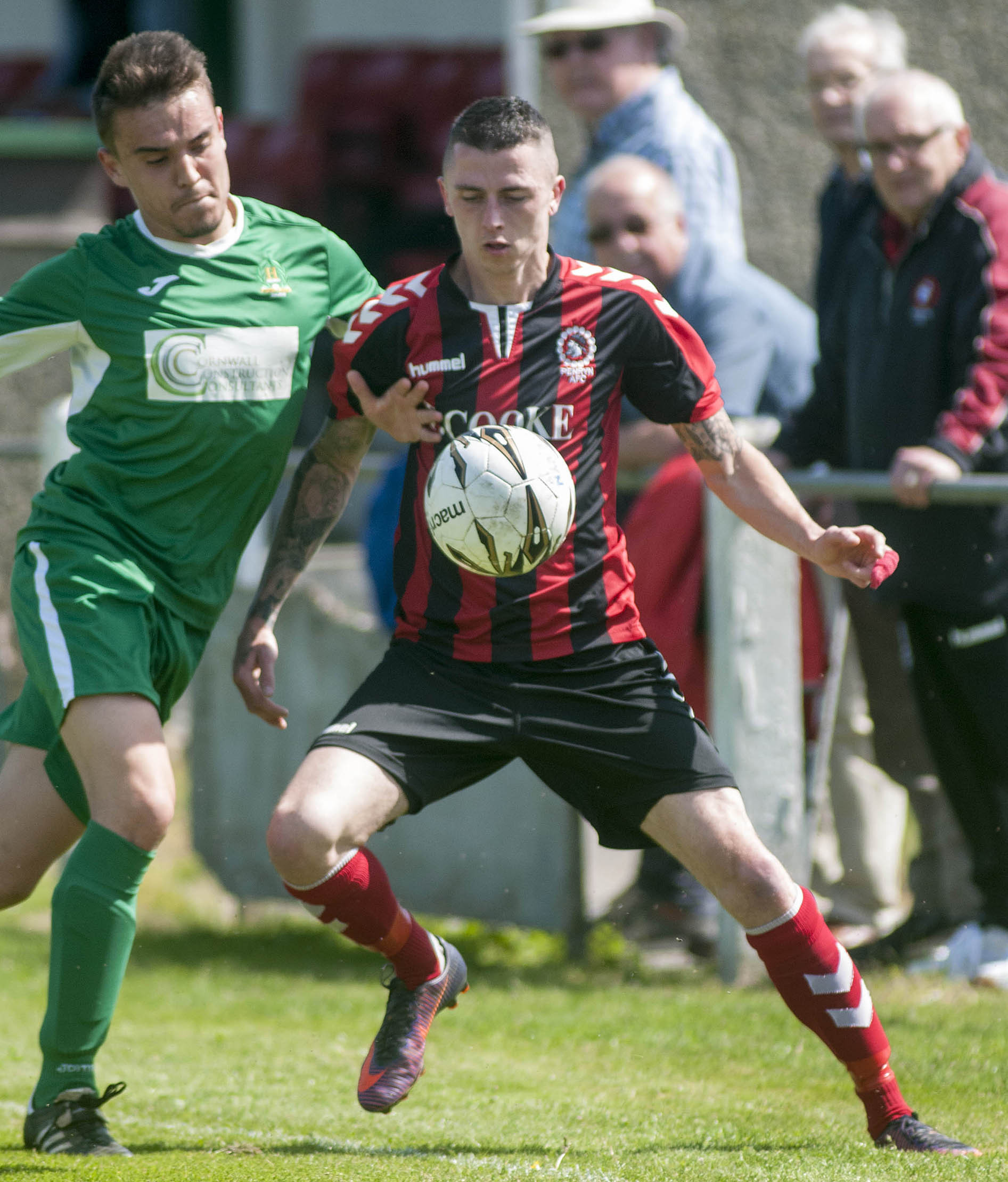 Penryn Athletic are one of 13 clubs to receive a bye into the second round of this year's Cornwall Senior Cup