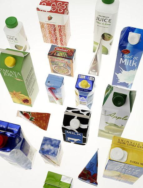 Tetra Pak cartons are now among the items that can be recycled at Cornish centres
