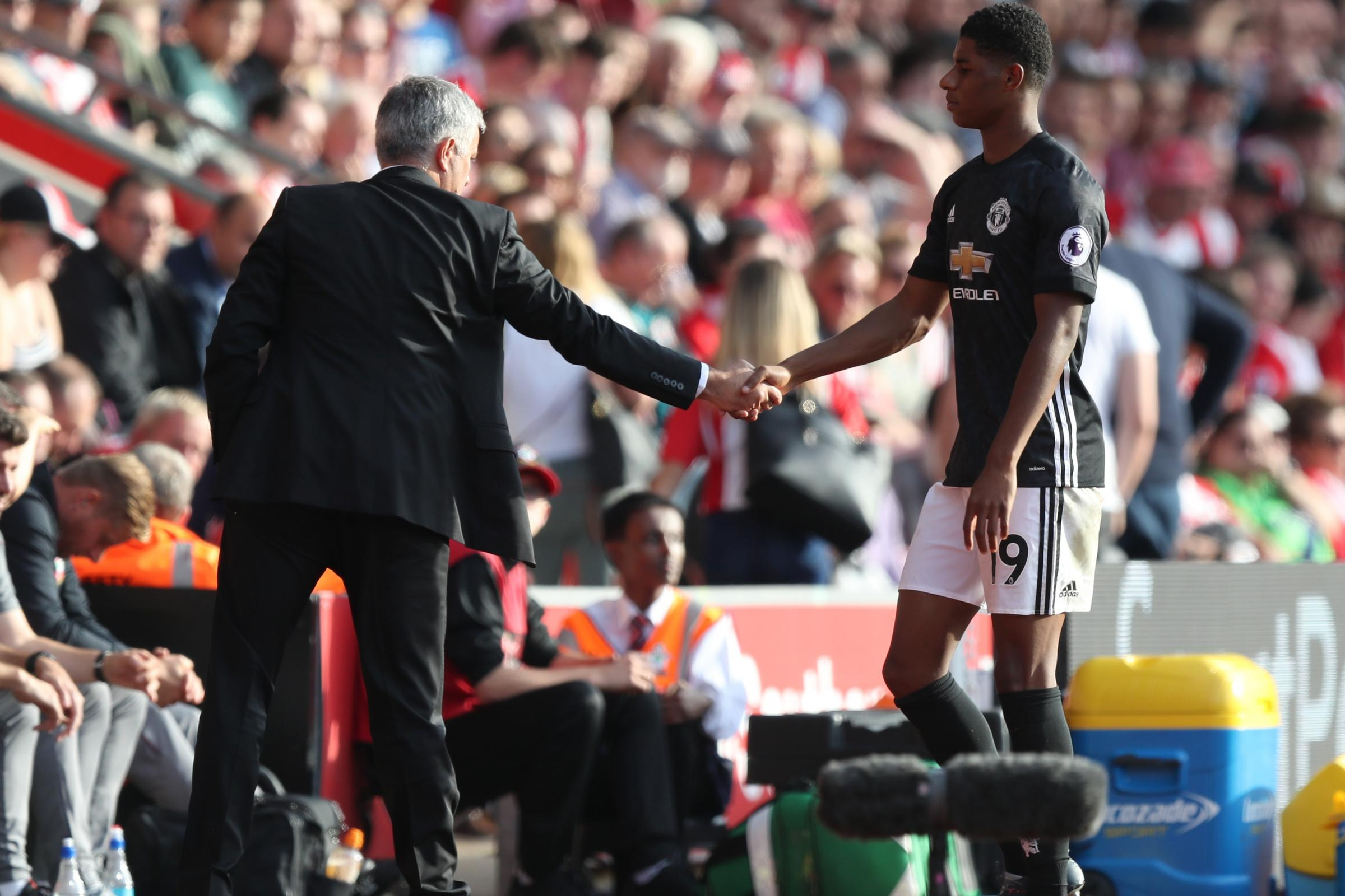 Manchester United manager Jose Mourinho has defended the way he is developing Marcus Rashford.