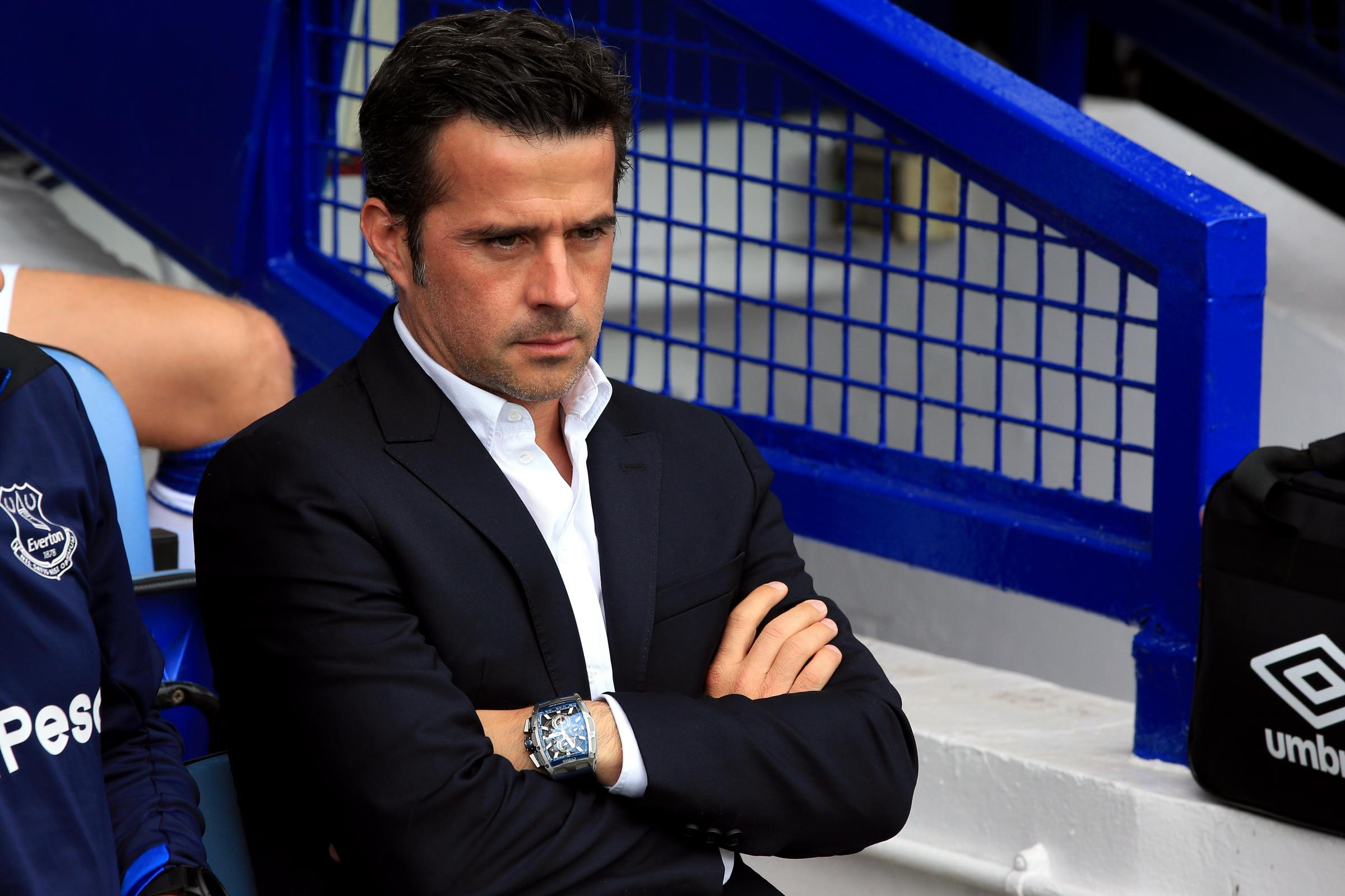 Everton manager Marco Silva is unconcerned by a tapping-up investigation.