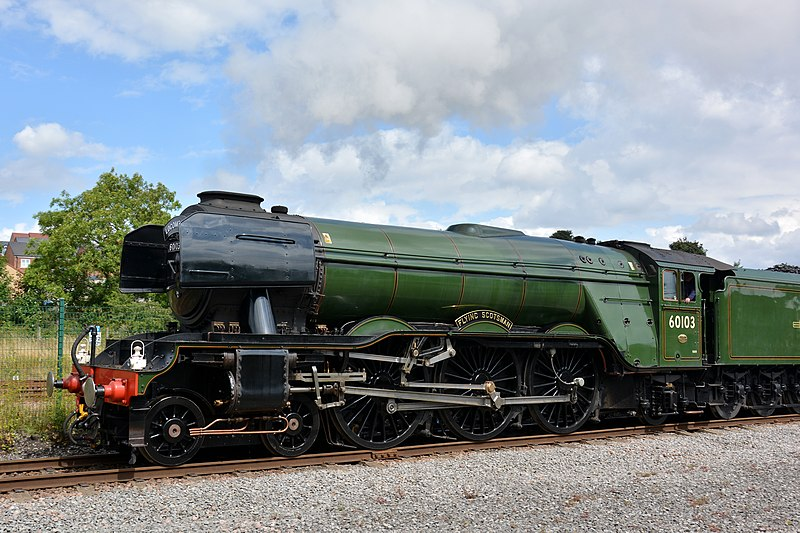 The Flying Scotsman will be in Cornwall today. Photo: GrafLukas