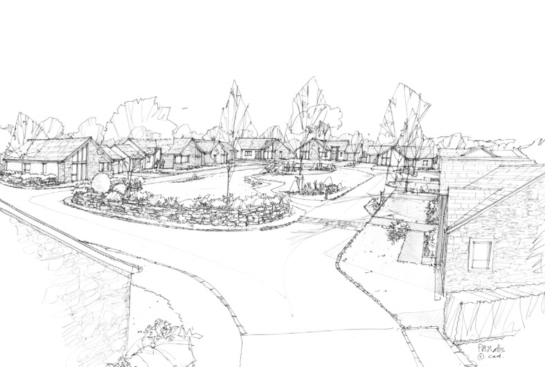 Artist's impression of the proposed development