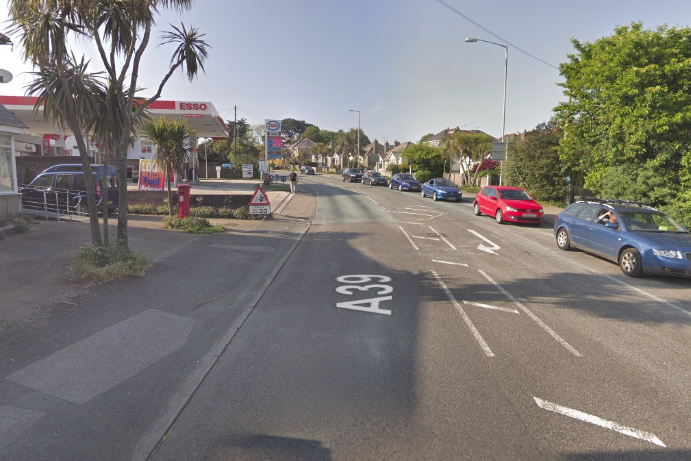 The accident took place near the Dracaena Avenue crossing