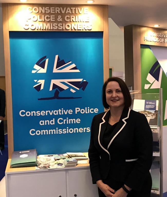 Alison Hernandez, Conservative Police and Crime Commissioner (PCC) candidate for Devon, Cornwall and the Isles of Scilly. (Image free to use by all LDRS partners)