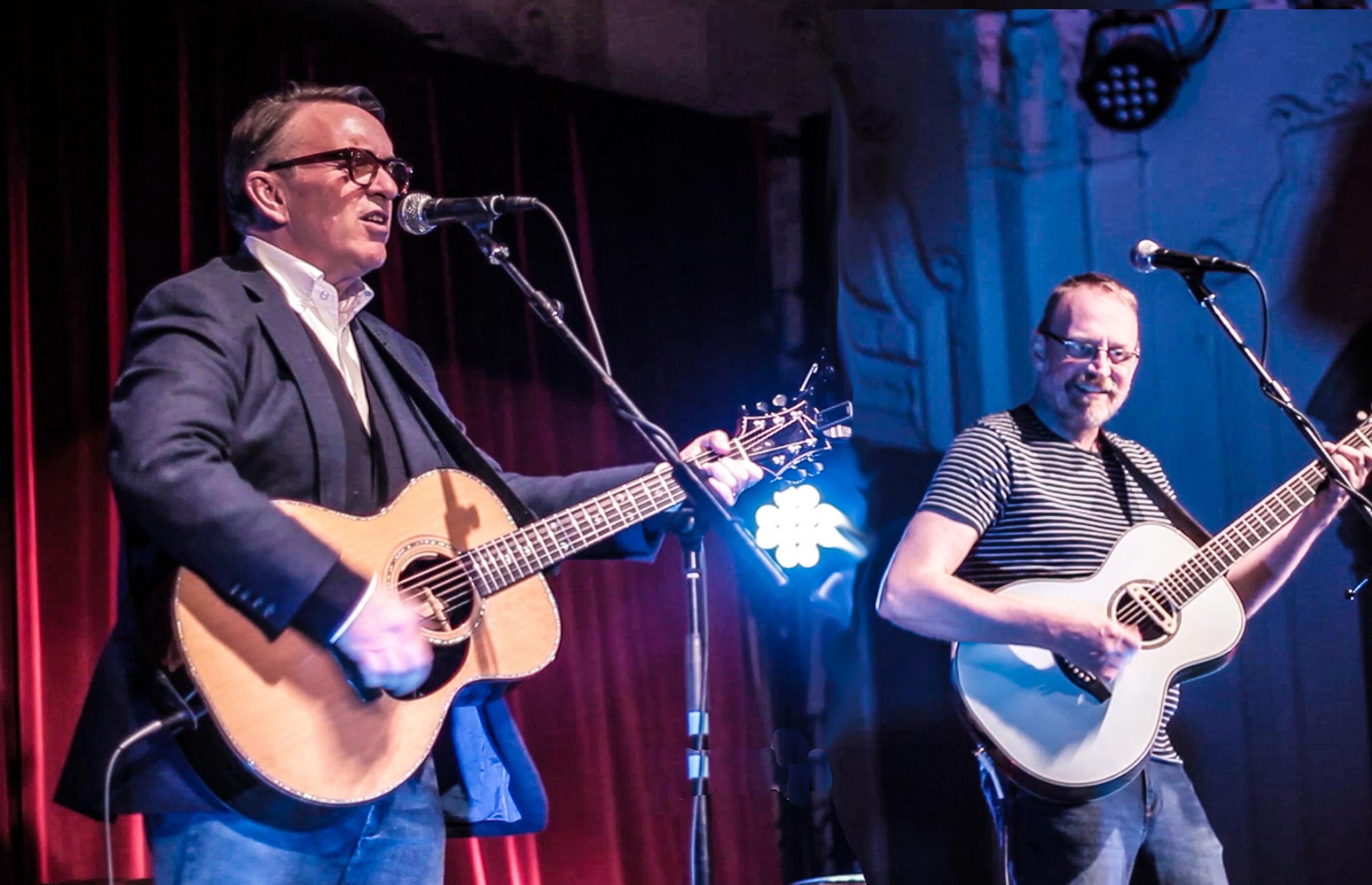 Chris Difford and Boo Hewerdine are coming to Cornwall