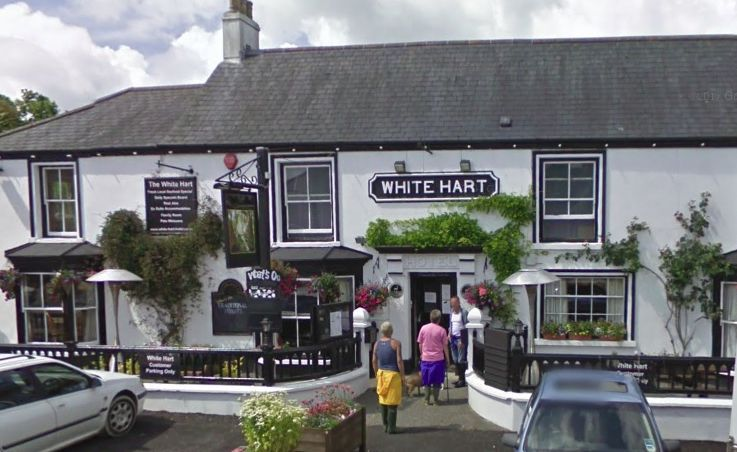The White Hart in St Keverne has been given a High Court music ban
