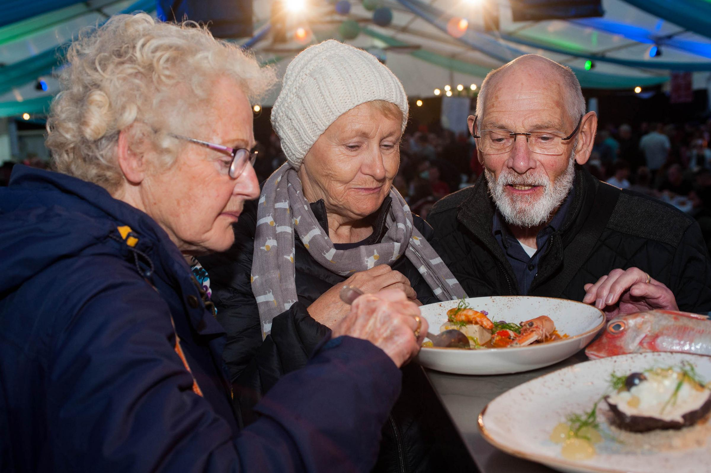 Falmouth Oyster Festival, which would be under threat if BID funding stopped. Picture by Colin Higgs