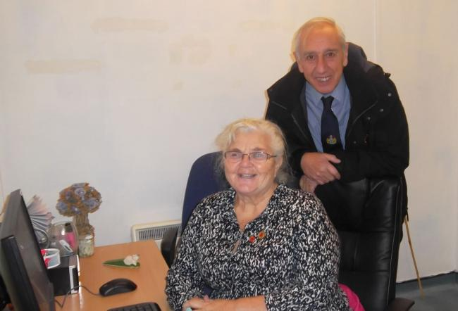 June and Grenville Chappel have been forced to close the Beacon Community Regeneration Partnership due to lack of funding. Photo: Helen Dale