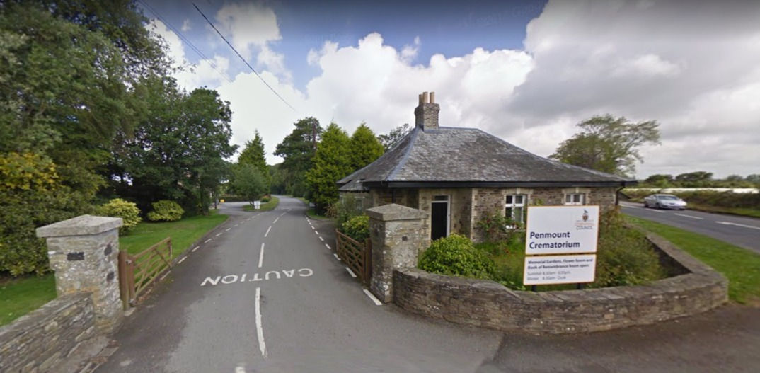 Penmount Crematorium near Truro where cremation charges could be set to rise (Image: Google Maps)