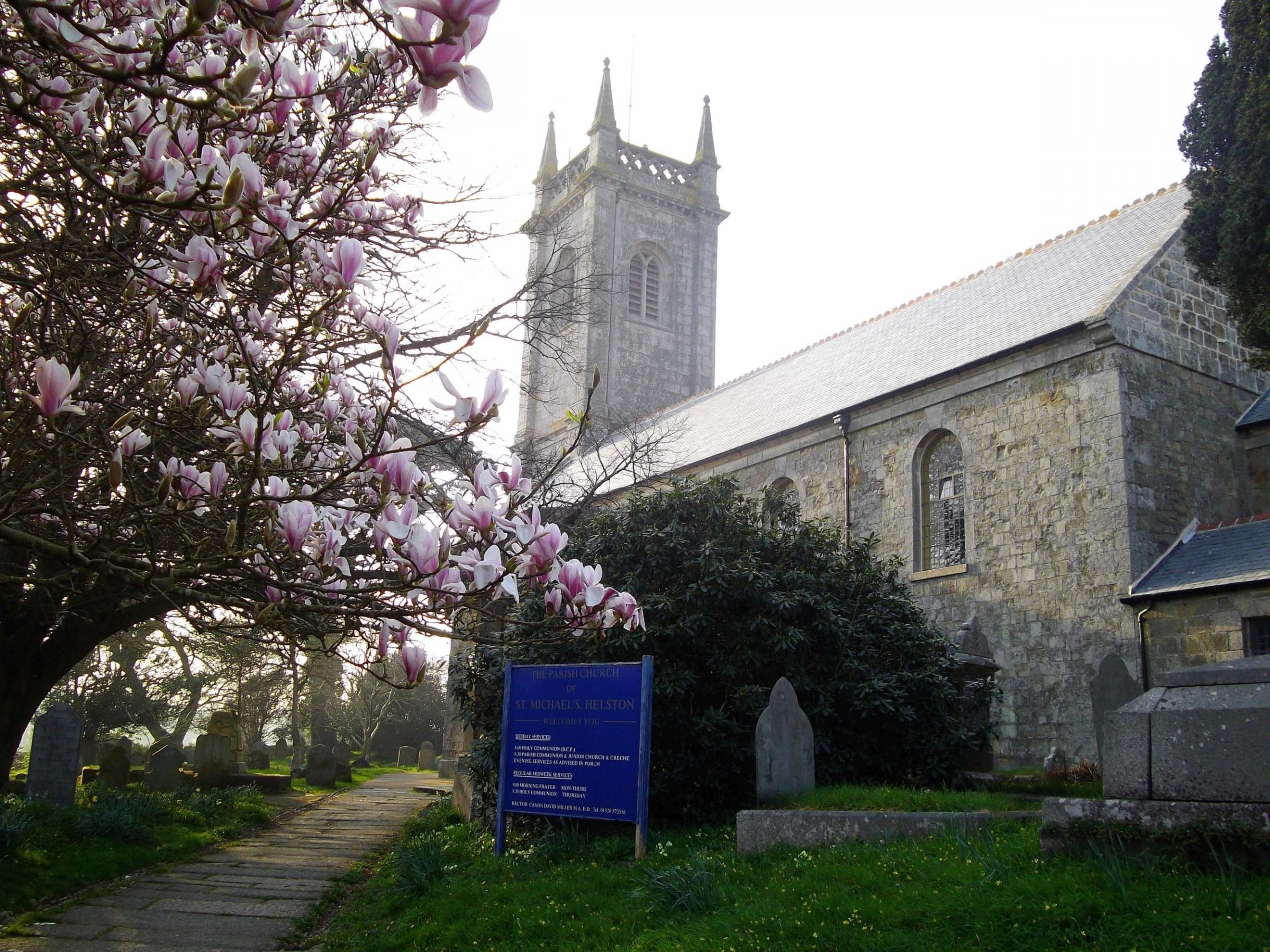 A fundraising appeal has been set up in aid of St Michael's Church in Helston