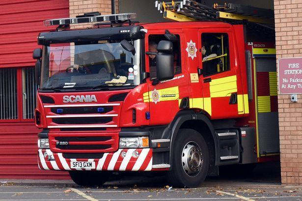 Fire breaks out at a house in Devoran as arson is suspected