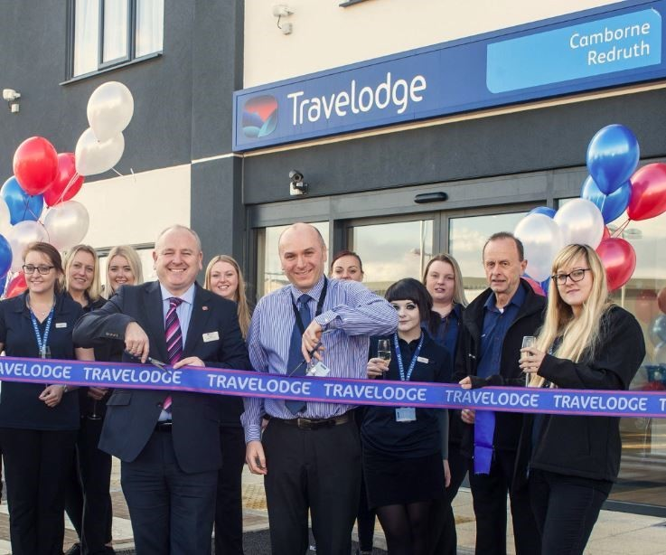 Camborne Redruth Travelodge was officially opened today by Gary Steele