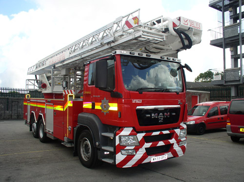 Firefighters attended an incident in Marazion