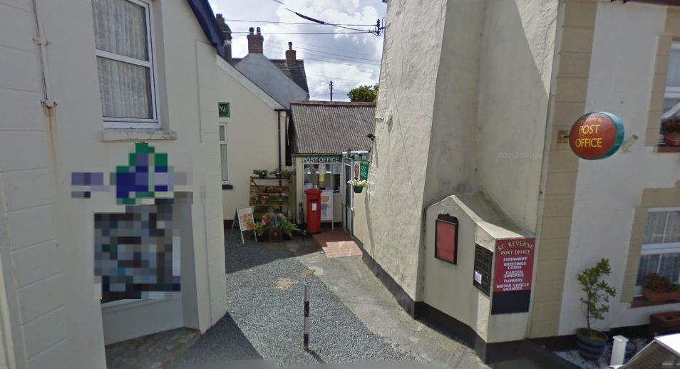 The pop-up charity shop was opened in a vacant office by St Keverne Post Office