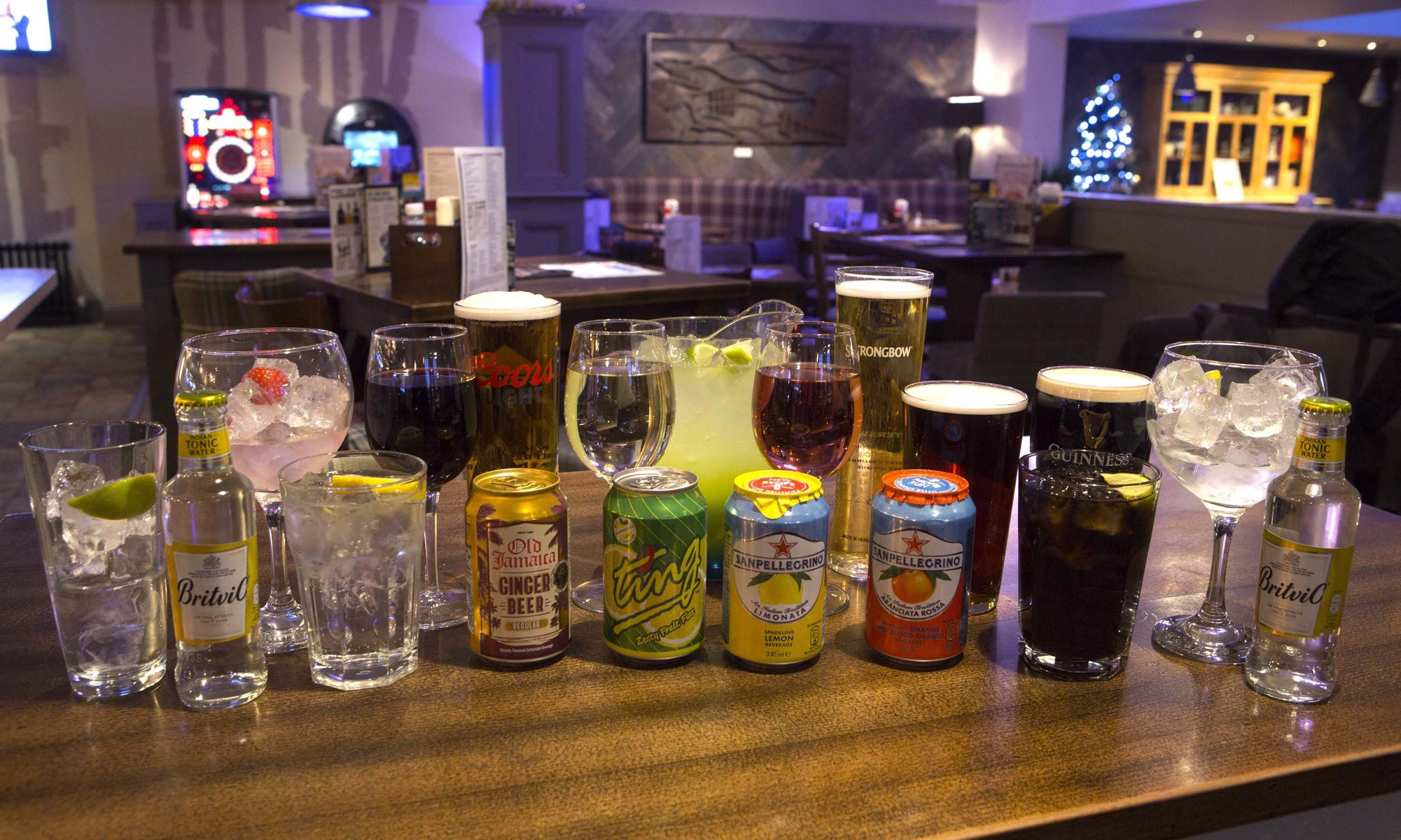 Wetherspoons January drinks offer
