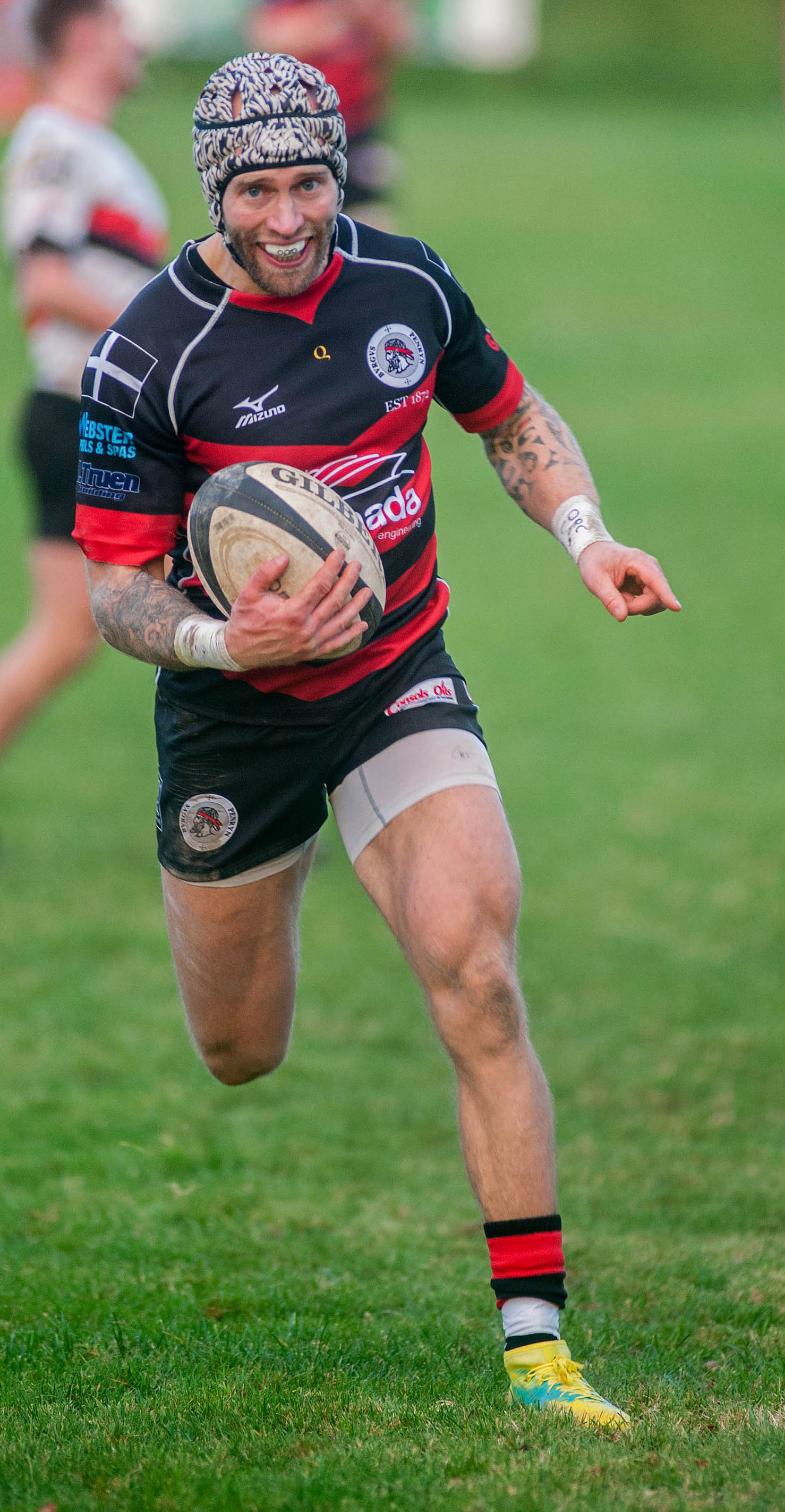 Penryn's Josh Chambers scored a third consecutive hat-trick in his side's 46-19 win at home to Tavistock on Saturday. Picture by Colin Higgs