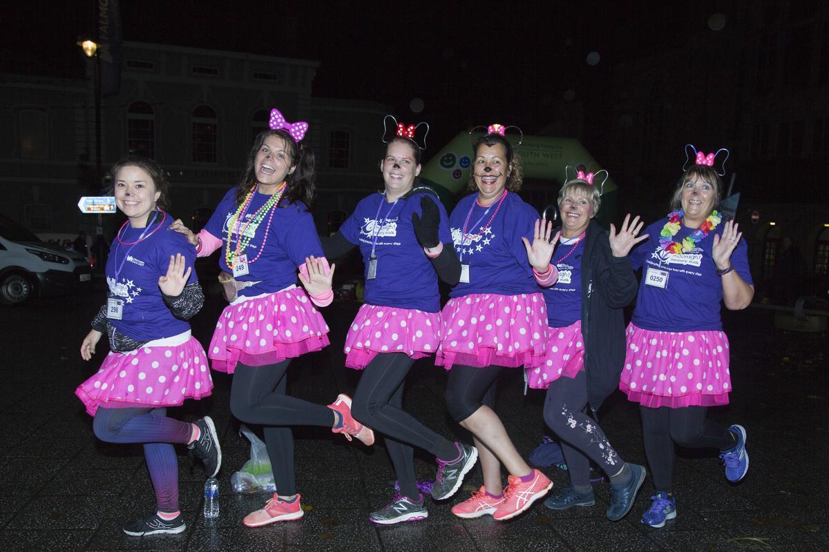Moonlight Memory Walkers are encouraged to sign up to this year's 10th anniversary Moonlight Memory Walk in Falmouth on March 30