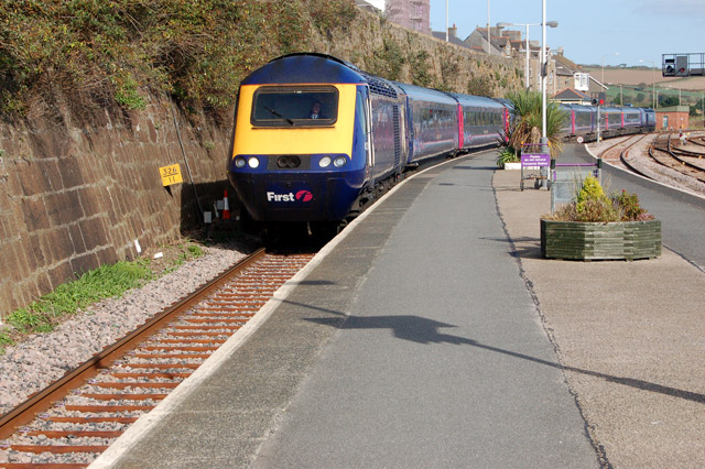 Trains in and out of Cornwall are affected