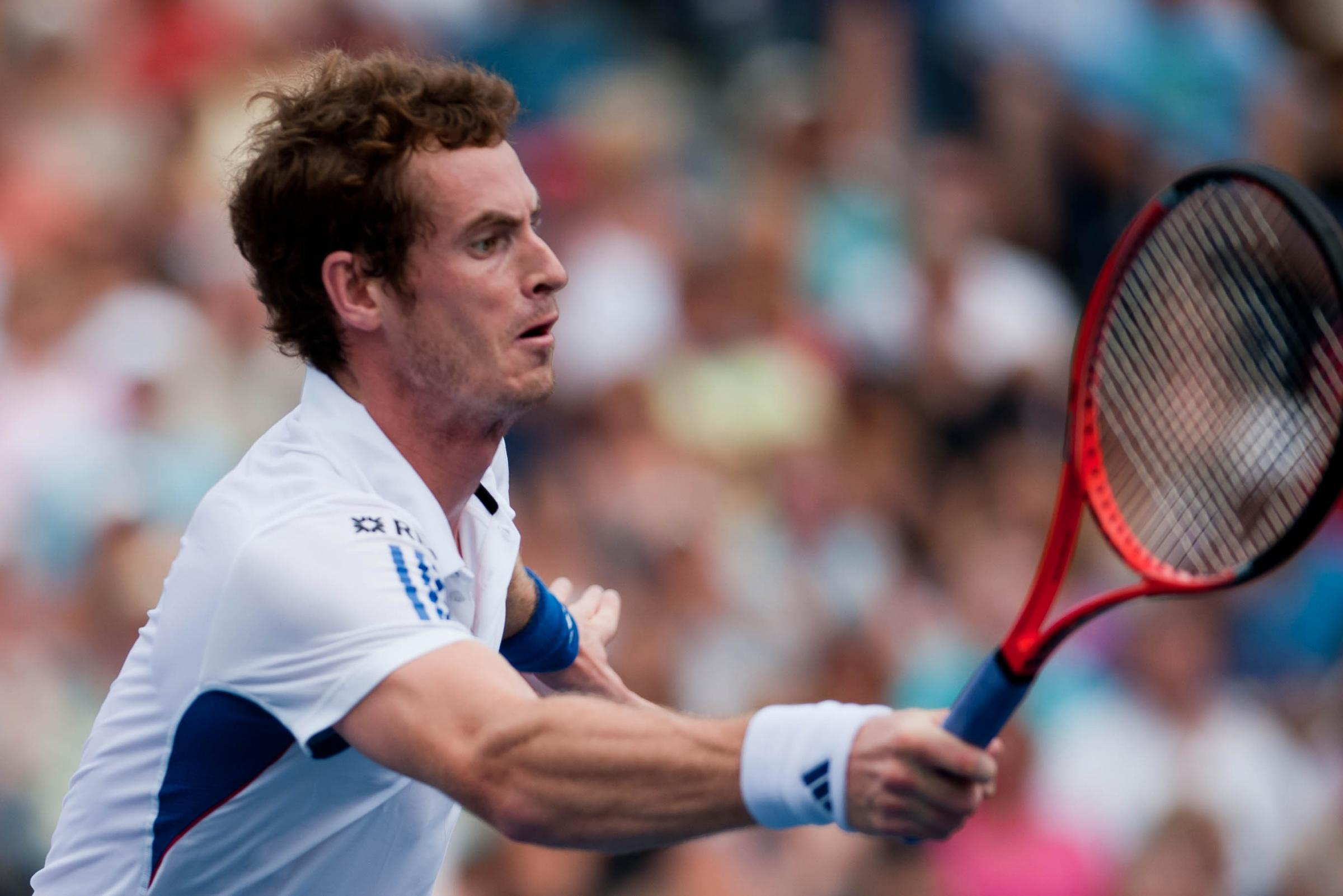 Andy Murray is a three-time Grand Slam winner, double Olympic champion and Davis Cup winner. Pic: Flickr/John Nguyen